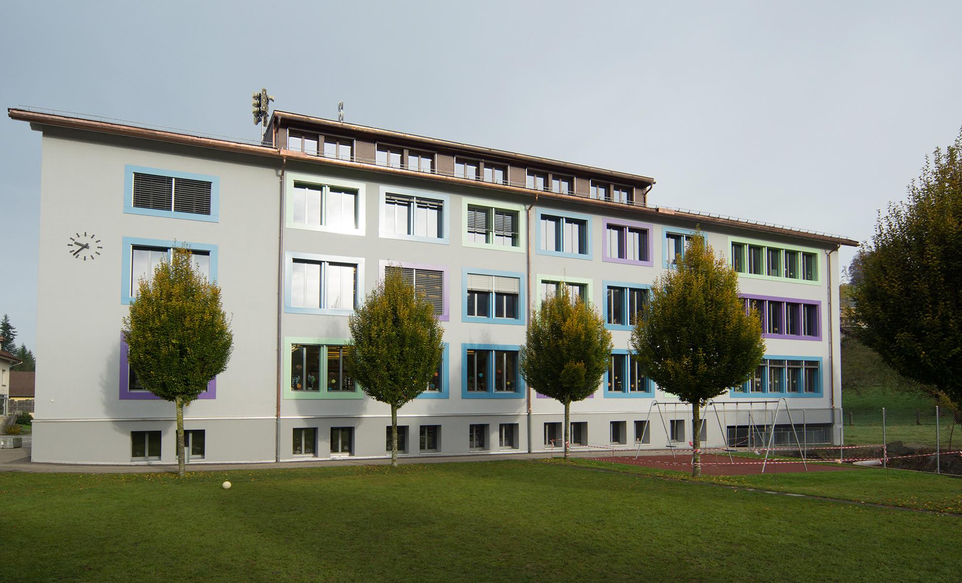 Schulhaus sch rer architekten gmbh for Architekten schweiz