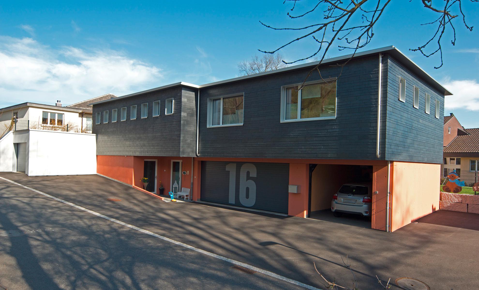 Efh bergstrasse sch rer architekten gmbh for Architekten schweiz